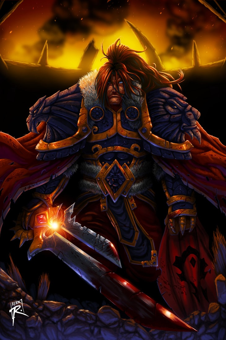 WOW: Varian Wrynn Wallpaper