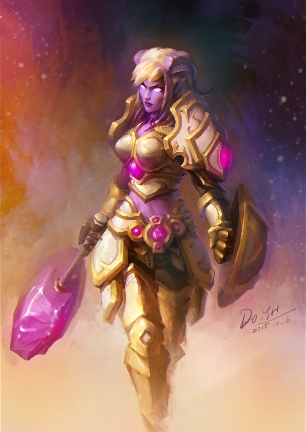 WOW: Yrel Backgrounds
