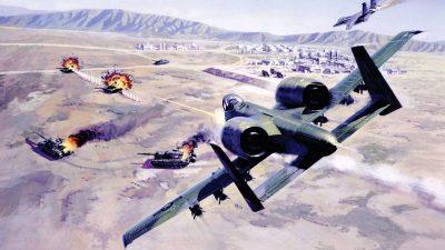 A-10 Thunderbolt II Widescreen