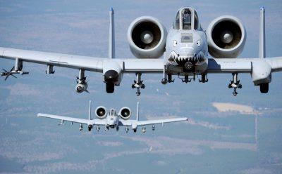 A-10 Thunderbolt II widescreen wallpapers