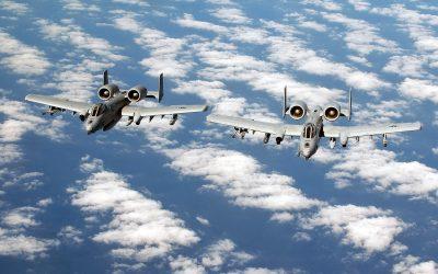 A-10 Thunderbolt II Desktop wallpaper