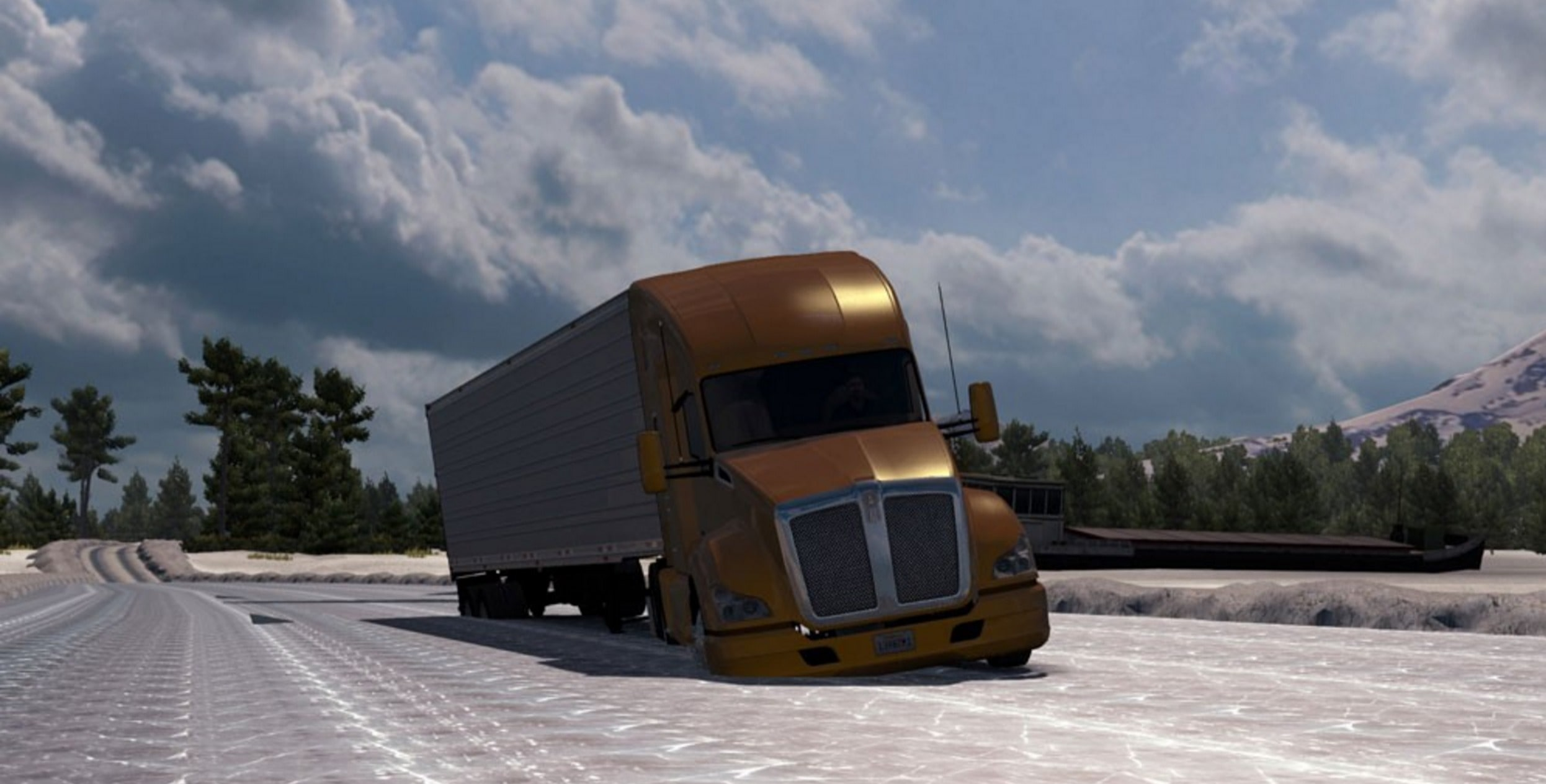 Alaskan Truck Simulator Wallpapers