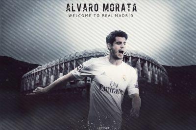 Alvaro Morata Desktop wallpaper