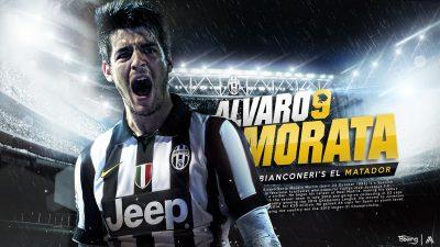 Alvaro Morata Widescreen