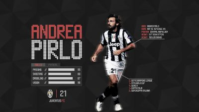 Andrea Pirlo Widescreen for desktop