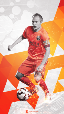 Andres Iniesta For mobile