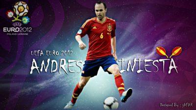 Andres Iniesta Widescreen