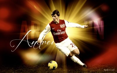 Andrey Arshavin widescreen wallpapers