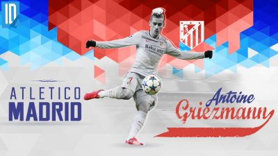 Antoine Griezmann Widescreen for desktop