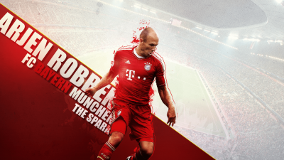 Arjen Robben widescreen wallpapers
