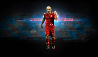 Arjen Robben Widescreen for desktop