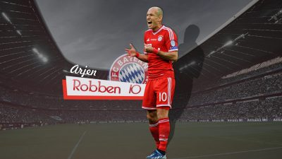 Arjen Robben Screensavers