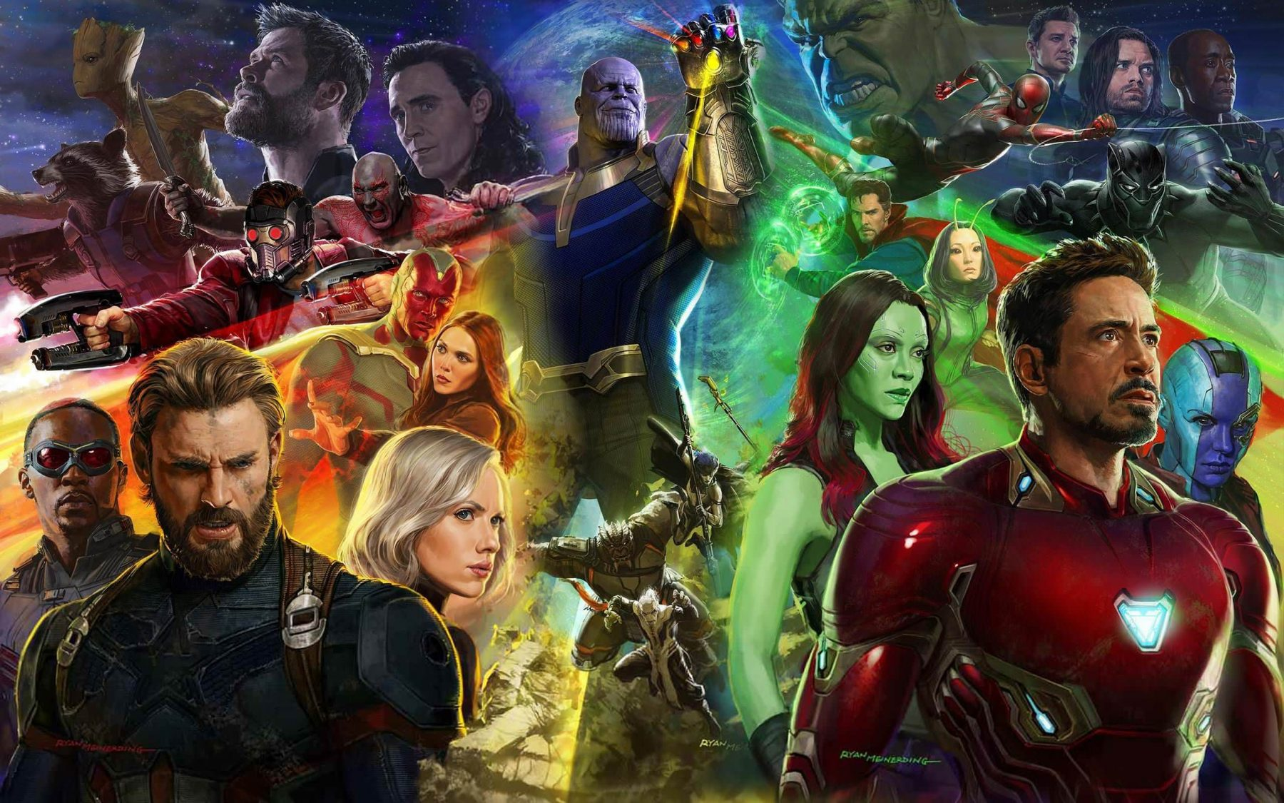 avengers: infinity war hd wallpapers | 7wallpapers