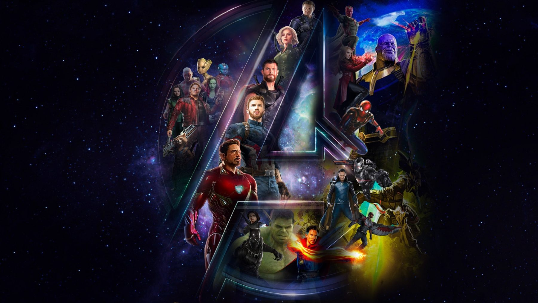 Avengers Infinity War Widescreen Wallpapers Hd