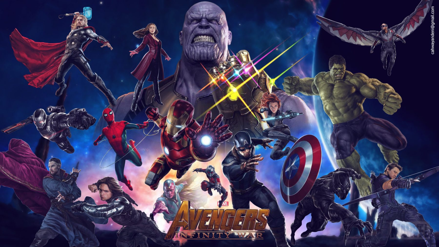 Avengers Infinity War Hd Wallpapers 7wallpapersnet