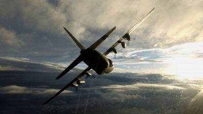 C-130 Hercules Desktop wallpaper