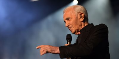Charles Aznavour Widescreen