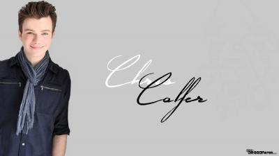 Chris Colfer widescreen wallpapers