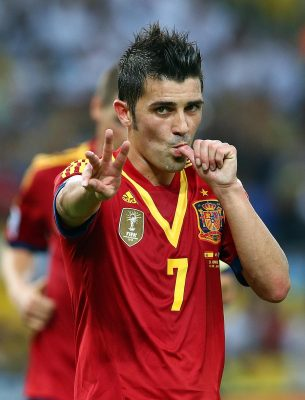 David Villa For mobile