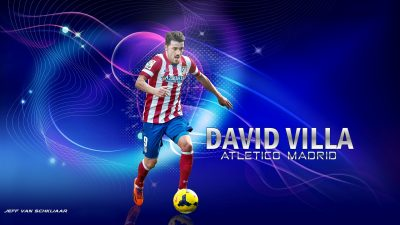 David Villa Desktop wallpaper