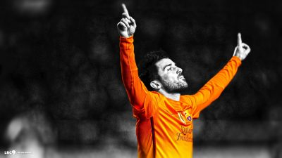 David Villa widescreen wallpapers