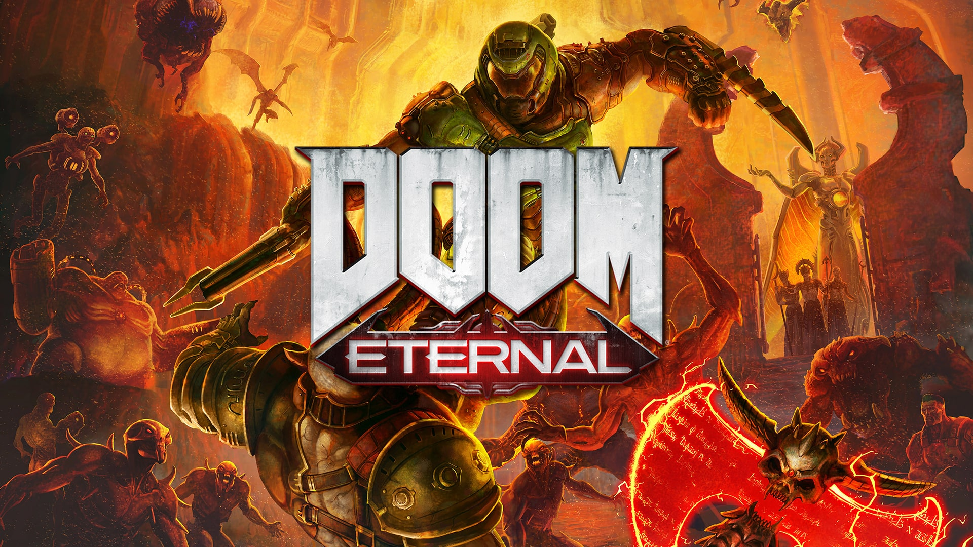 Doom Eternal Hd Wallpapers 7wallpapers Net