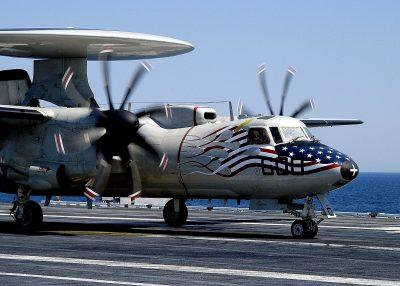 E-2C Hawkeye High