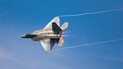 F-22 Raptor widescreen wallpapers