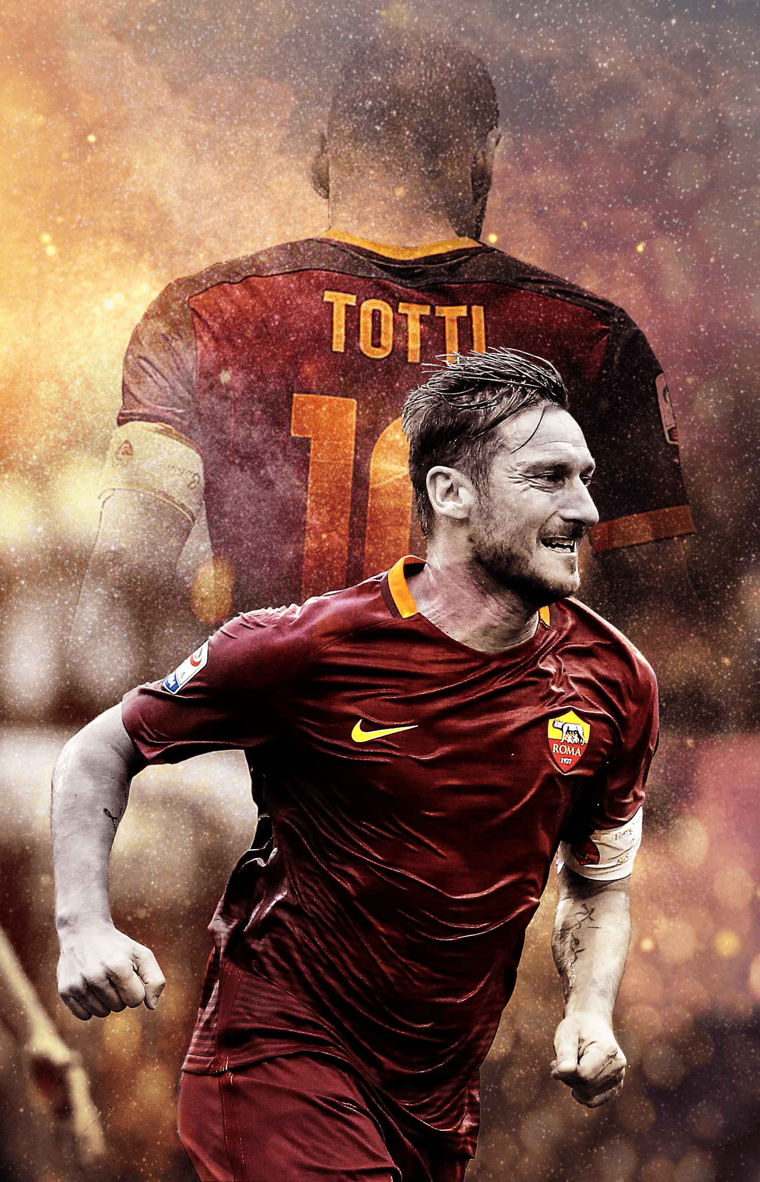 Francesco Totti HD Desktop Wallpapers