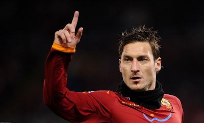 Francesco Totti Widescreen for desktop