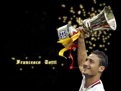 Francesco Totti widescreen wallpapers