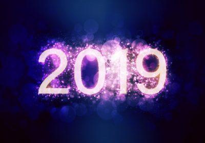 Happy New Year 2019 High