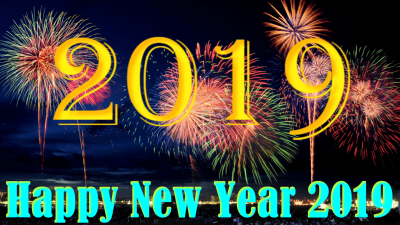 Happy New Year 2019 Screensavers