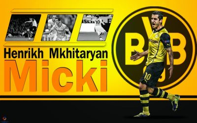 Henrikh Mkhitaryan Widescreen for desktop