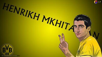 Henrikh Mkhitaryan Widescreen