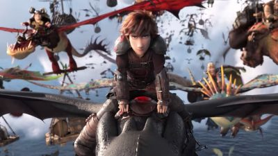 How to Train Your Dragon: The Hidden World Wallpaper