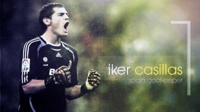 Iker Casillas Desktop wallpaper