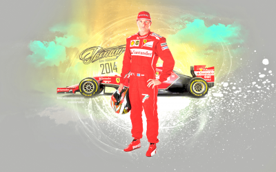 Kimi Raikkonen widescreen wallpapers