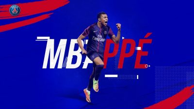 Kylian Mbappe Widescreen for desktop