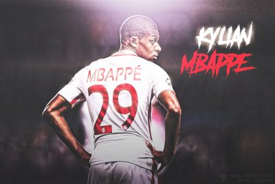 Kylian Mbappe Widescreen
