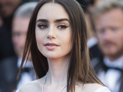 Lily Collins Background