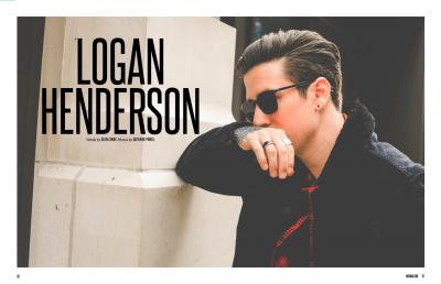 Logan Henderson widescreen wallpapers