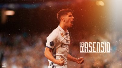 Marco Asensio Widescreen for desktop