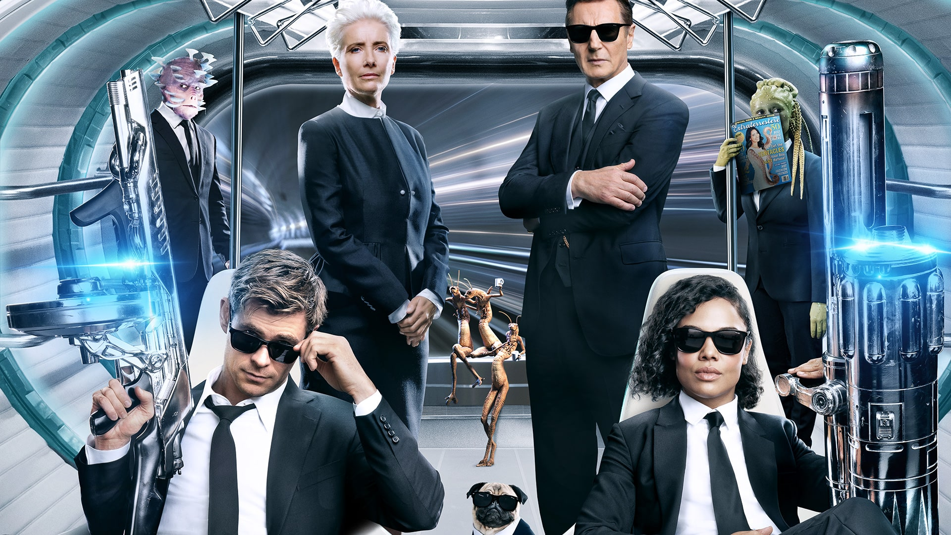 Men in Black: International Screensavers