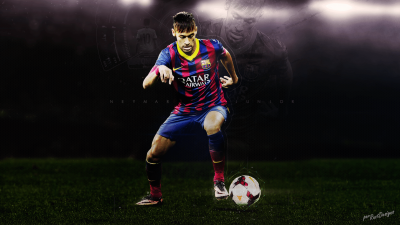 Neymar widescreen wallpapers