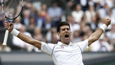 Novak Djokovic widescreen wallpapers