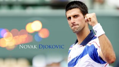 Novak Djokovic Widescreen for desktop