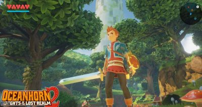 Oceanhorn 2: Knights of the Lost Realm Widescreen for desktop