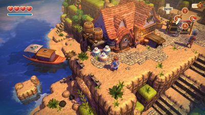 Oceanhorn 2: Knights of the Lost Realm Desktop wallpaper