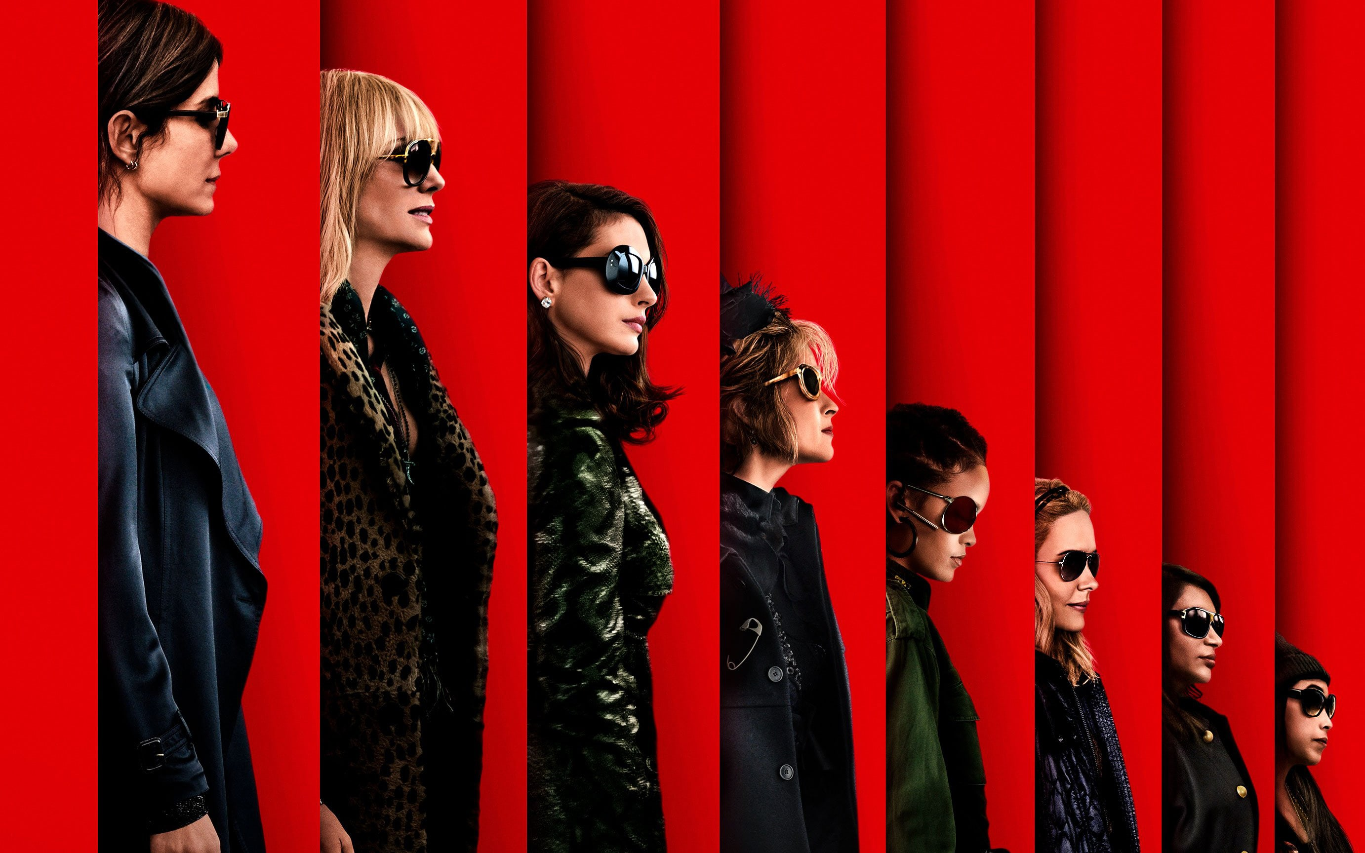 Ocean's 8 Screensavers